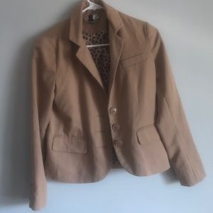Divided By H&M Tan Blazer Size 4